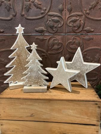Wooden Stars / Christmas Trees
