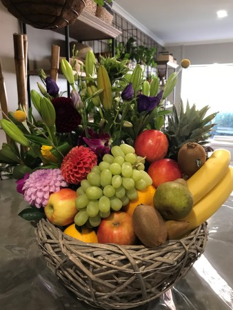 Fruit & Flower Hamper